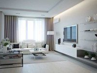 Hvid stue - 55 fotos af arrangementet af stuen i hvidt