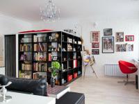 Design af en en-værelses lejlighed på 35 kvadratmeter. m. - (120 fotos)
