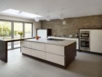 Moderne køkkener - 150 fotos af det bedste interiør i køkkenet i 2020