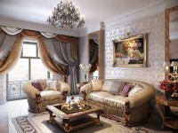 Stue i klassisk stil - 57 fotos i interiøret