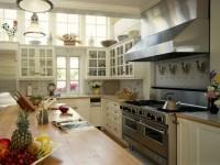 Kitchen Styles - en oversigt over alle de populære stilarter i det indre af køkkenet (75 fotos)