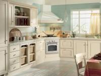 Lyst køkken - vi fremstiller det indre af køkkenet i lyse farver (75 fotos)
