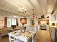 Provence-køkken - 100 fotos af det moderne Provence-interiør