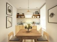 Køkken design 6 kvm - de bedste ideer til interiørdesign i et køkken i ikke store størrelser (100 fotos)