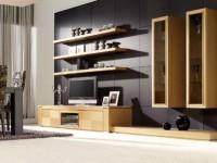 Vægge i stuen - 100 fotos af et smukt vægdesign i det indre
