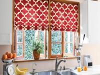 Gardiner i køkkenet - 110 af de bedste fotoeksempler på design af gardiner i køkkenet
