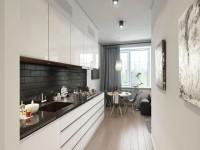Køkken design 9 kvm m. - 55 fotos i det indre
