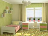 Design af gardiner til et børneværelse - 55 fotos af nye gardiner i det indre af en børnehave