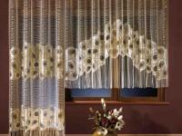 Gardiner til køkkenet med en balkondør: de bedste ideer til dekorering af gardiner i køkkenet (75 billeder)
