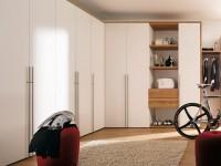 Garderobe i soveværelset - en oversigt over moderne modeller i det indre af soveværelset (50 fotos)