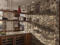 Køkkener lavet af sten - 110 fotos af eksklusive stenindretninger