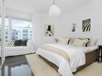 Lys soveværelse - 100 fotos af ideer til et upåklageligt designet hvidt soveværelset interiør