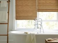 Gardineborde til badekar og bruser (50 fotos)