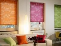 Romerske gardiner - 170 fotos af ideer og nyheder af stilfulde gardiner på plastvinduer