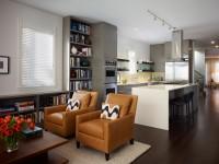 Køkken stue - 150 fotos af perfekt kombineret køkken og stue interiør
