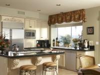 Moderne gardiner i køkkenet - 135 fotos af nye produkter i interiøret