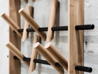 Bøjle i gangen - de mest stilfulde modeller til gangen (95 fotos)