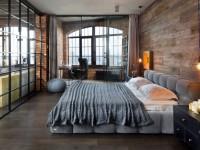 Design af en bachelor-lejlighed: TOP-100 fotos af et usædvanligt interiør