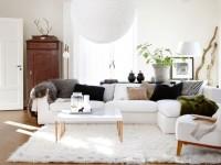 Skandinavisk stil i det indre: TOP-100 fotos af designnyheder