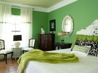 Grønt soveværelse - 75 stilfulde designfotos i moderne stil