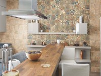 Carreaux pour la cuisine - 170 photos à l'intérieur. Aperçu des types, des méthodes d'installation, de la conception du sol et du tablier avec des carreaux.