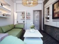 Petit salon - 100 photos de décoration intérieure (7 idées)