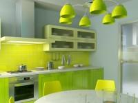 Cuisine verte - 55 photos d'idées pour organiser l'intérieur de la cuisine dans des couleurs vertes