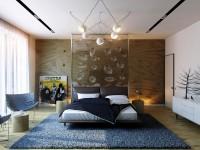 Design de chambre moderne - 35 photos des meilleures idées de décoration intérieure dans la chambre