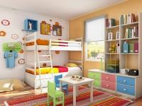 Chambres d'enfants - 75 photos de belles idées de design pour une chambre d'enfants