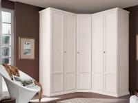 Armoire d'angle dans la chambre - 110 des meilleurs modèles pour l'intérieur de la chambre