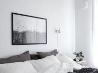 Chambre grise - photos des meilleurs intérieurs de chambre grise