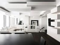 Intérieur noir et blanc - idées de conception de photos en noir et blanc