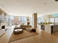 Penthouse design - photos des solutions de design les plus en vogue et les plus insolites à l'intérieur