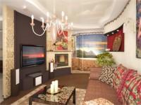 Appartement de style marocain