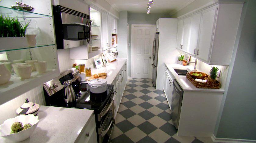 Ombygningen af køkkenet er frisk