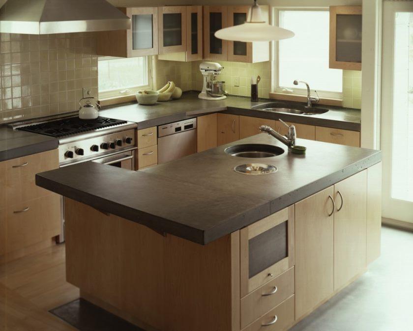 02-U-form-lille-køkken-dekoration-hjælp-sort-sten-bæredygtige-køkken-bordplader-inklusive-square-beige-flise