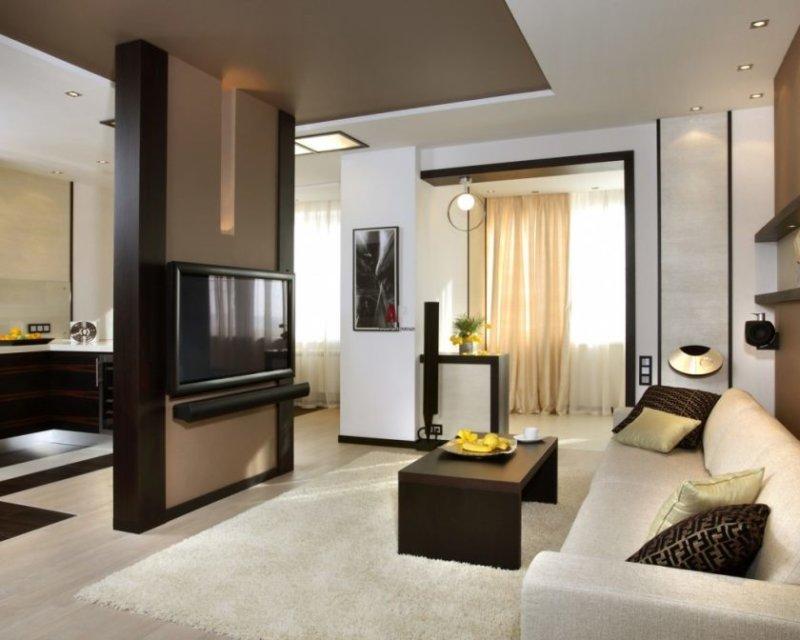 soveværelse kombineret med stue