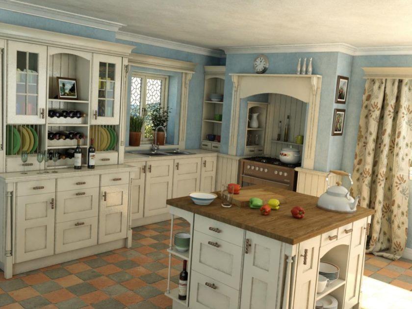 Klassisk stil i køkkenet