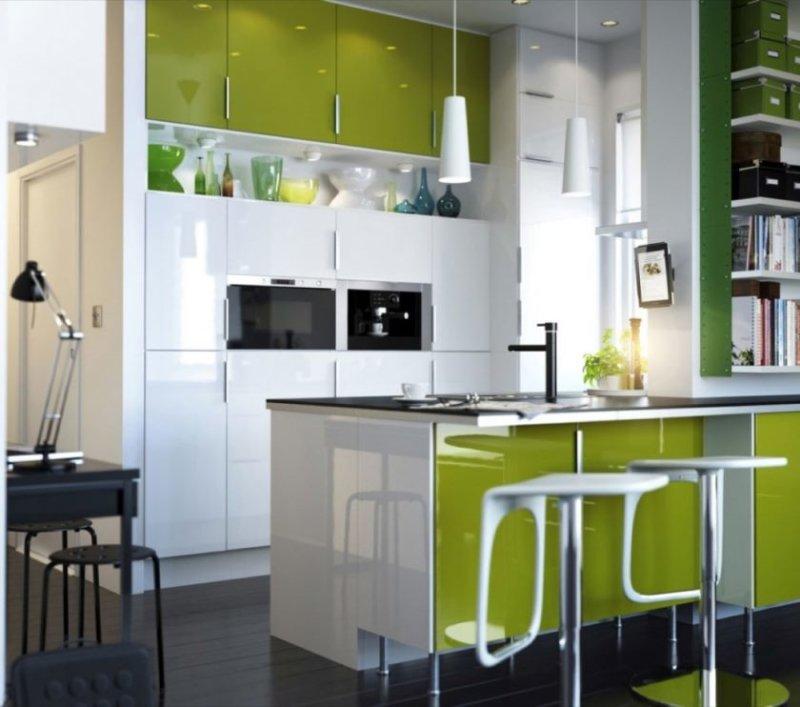 elegante-små-køkken-idéer-med-hjørne-vask