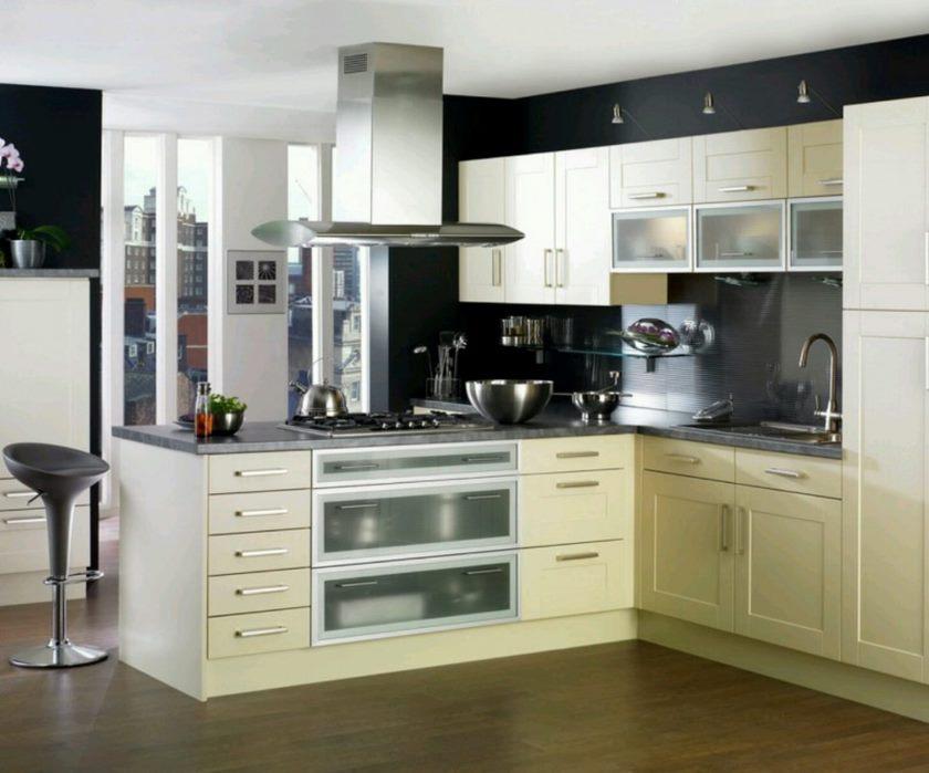 Fair-billeder-af-køkken-frysere-design-hjælp-hvide-kabinetter-sammen-med-en-emhætte-og-granit-bordplader-interessant-images-af-køkken-frysere-design-for-dig kendt hjem