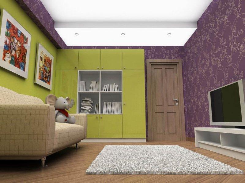 foto-9-fioletovyj-i-zelenyj-Cvet-v-interere