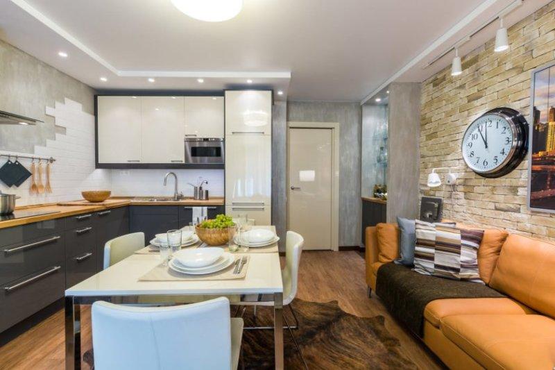 køkken-stue-arrangement-ideer