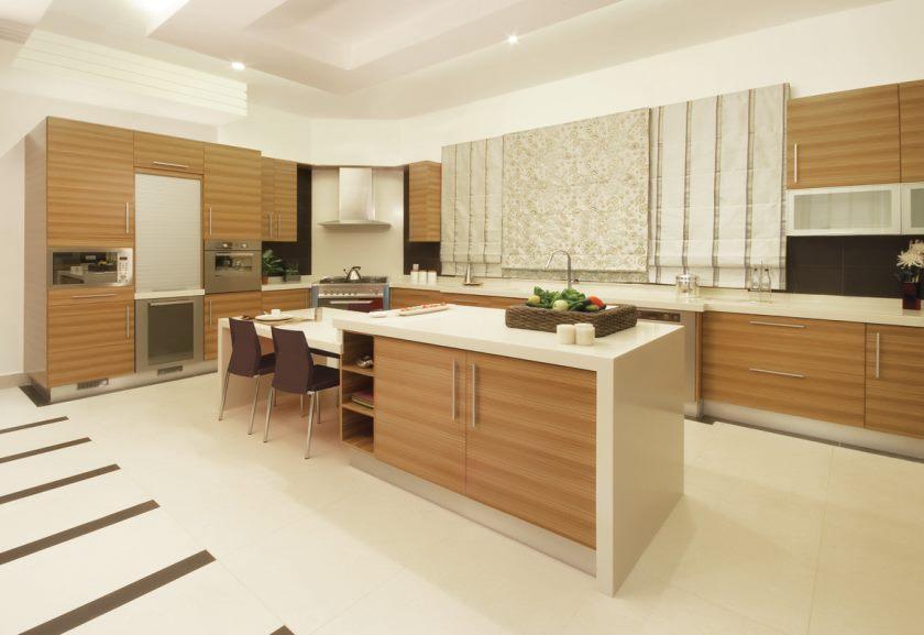 armoires de cuisine ultra-modernes