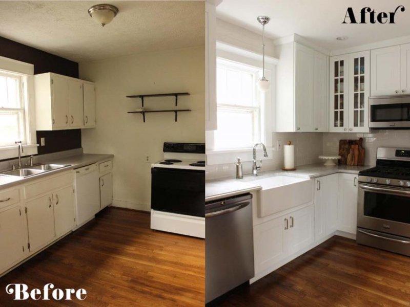 før-efter-lille-køkken-remodeling-ideer-on-a-budget-1