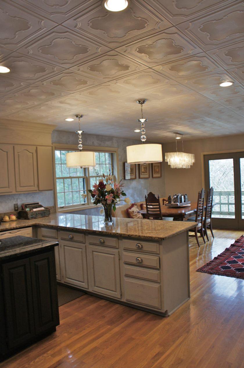 Loftet i køkkenet