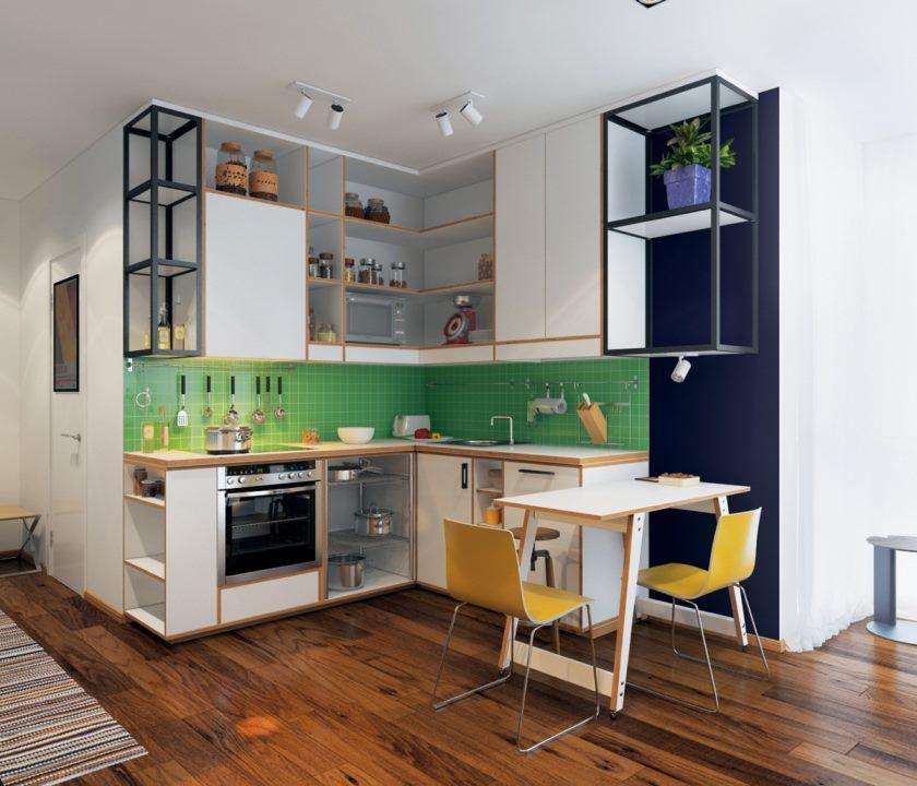 cute-grøn-køkken