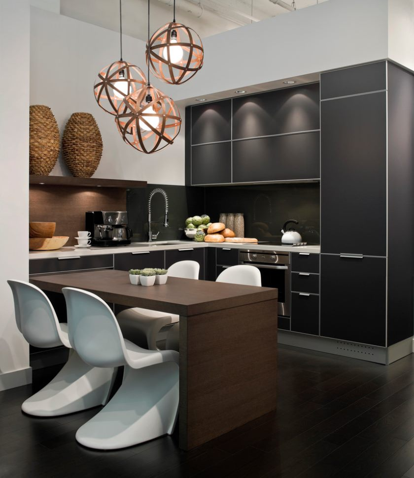 køkken-frysere-to-the-loft-moderne-med-grå