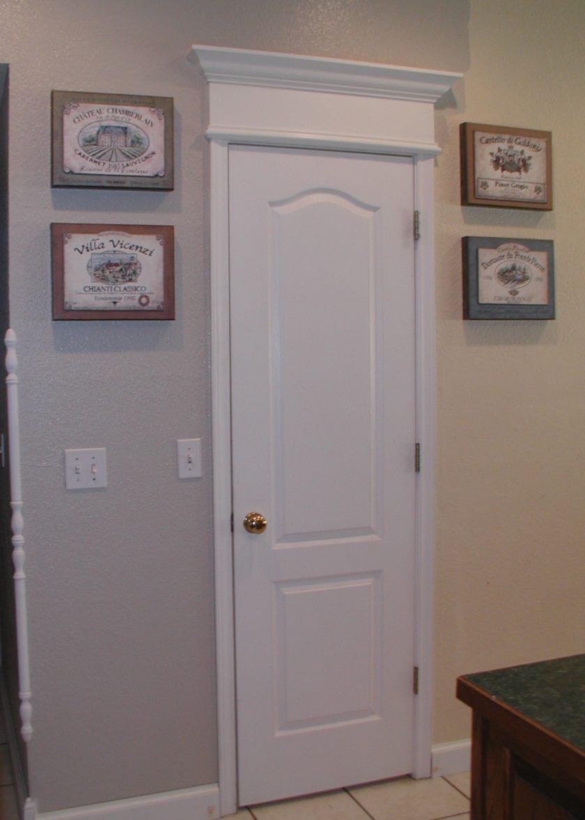 Dørene til køkkenet