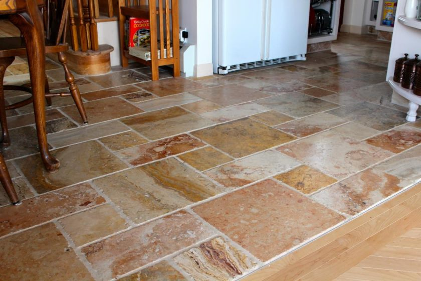 køkken-gulv-marmor