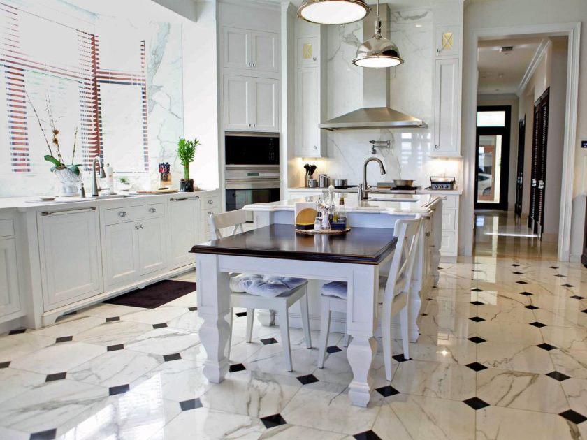 køkken-gulv-flise-ideer-med-mørke-kabinetter-vs-køkken-flise-gulv-mønstre-til-køkken-flise-gulv